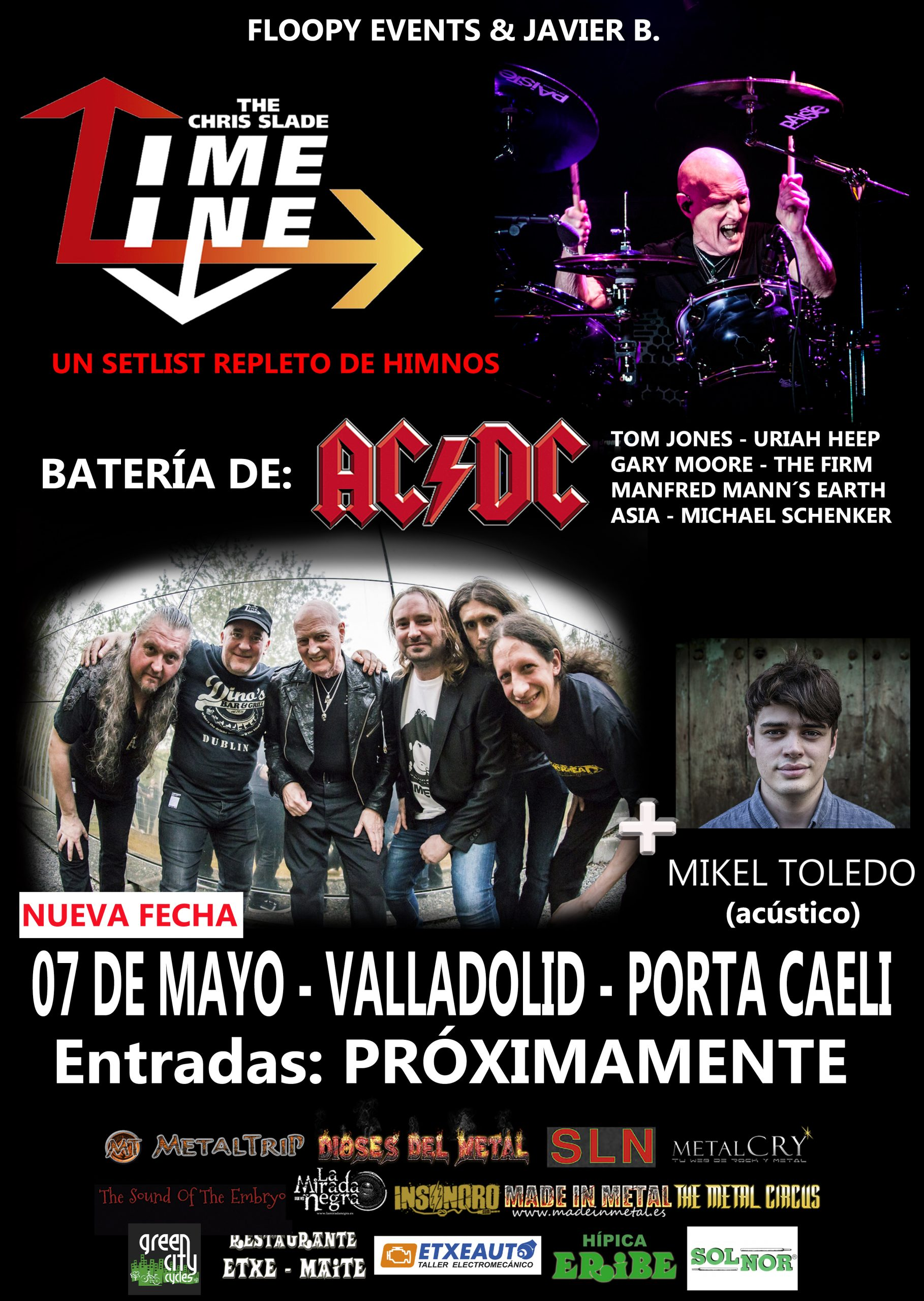 CARTEL vALLADOLID Chris Slade DEF